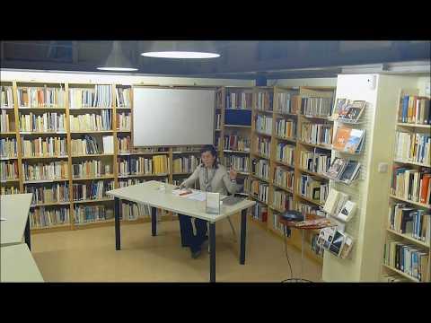 Teresa Guardans va parlar del 'coneixement silenciós' de Marià Corbí