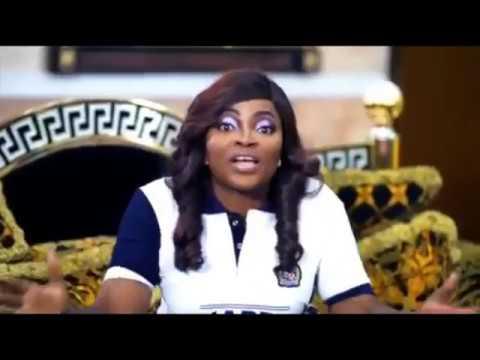 Funke Akindele (Jenifa) calls her Husband, JJC skillz names on his birthday