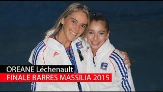 L'équipe de France Open 2, Oréane Léchenault, Alison Lepin, Mathilde Dal Zovo et Clara Beugnon termine à la 6e place du Master Massilia 2015 à Marseille. Qualifiée pour une finale aux barres asymétriques, Oréane monte sur la troisième marche du podium. Retrouvez la vidéo d'Oréane Léchenault au Master Massilia 2015.
