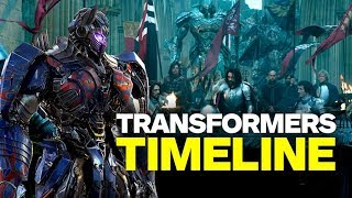 The Transformers Movie Timeline in Chronological Order by IGN
