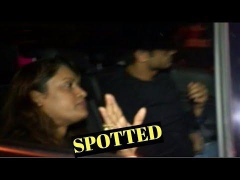 Sushant Singh Rajput Spotted At Khar Restaurant