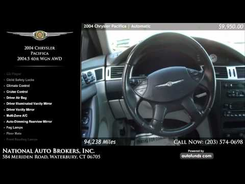 2004 Chrysler Pacifica AWD 2004.5 4dr Wgn AWD | National Auto Brokers, Inc., Waterbury, CT - SOLD