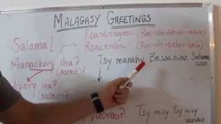 Lesson 2 of a series of Malagasy language videos created to equip partner churches to use simple Malagasy phrases during short term trips.
