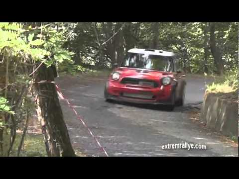test rally su mini cooper wrc!