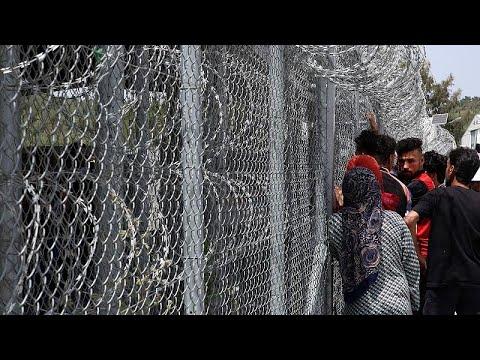 Αμείωτες οι μεταναστευτικές ροές – Σε εξέλιξη η αποσυμφόρηση της Μόριας…