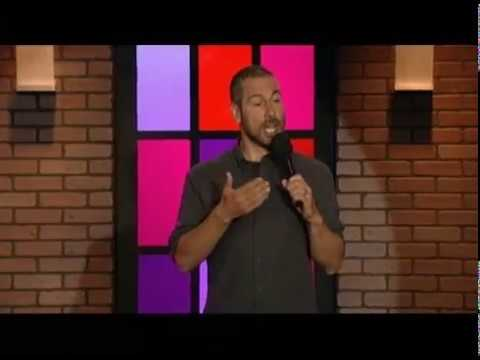 Joe Matarese performing on Nick Mom Night Out