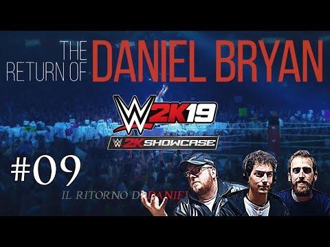 WWE 2K19 SHOWCASE: DANIEL BRIAN Vs RANDY ORTON Vs BATISTA -Wrestlemania 30-