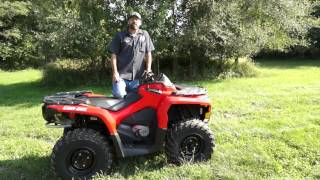 6. 2013 Can-Am Outlander 650!