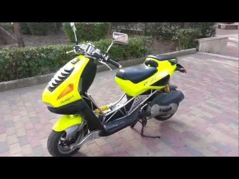 Italjet Dragster 125cc 15 HP UfoVolante Racing Team Gravina In Puglia