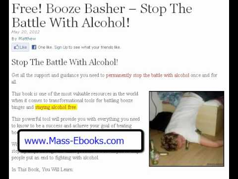 Alcohol Addiction. Free! How To Stop Alcohol Addiction