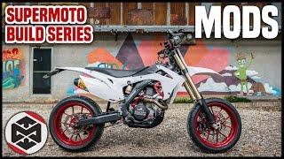 8. 2015 Honda CRF450R Supermoto Mods!! Total Cost?