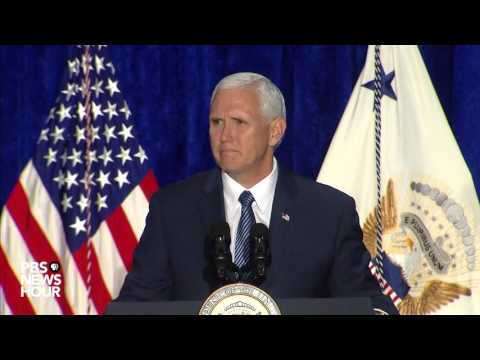 Vice President Pence, Attorney General Sessions speak at crime reduction summit