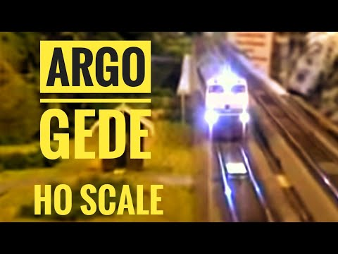 Argo Gede Train Model HO