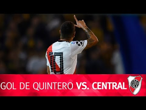 Gol de Juan Quintero vs. Rosario Central