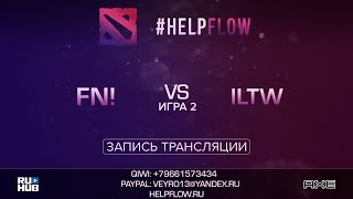 Fn! vs ILTW, Flow Tournament 1x1, game 2 [Adekvat, Smile]