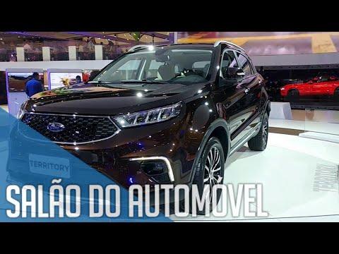 Salão do Automóvel SP 2018 - Novidades da Ford