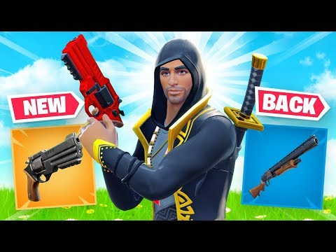 *NEW* REVOLVER - PUMP Is BACK - Huge Fortnite Update!