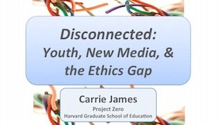 new media and ethical disconnect How young people think about the moral and ethical dilemmas they encounter  when they share and use online content and participate in online communities.
