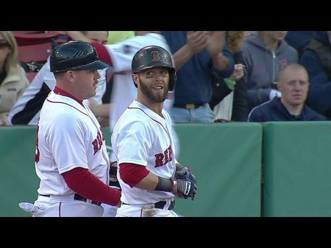 Video: HOU@BOS: Pedroia hits an RBI single up the middle