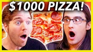 Video BUYING A $1000 PIZZA MP3, 3GP, MP4, WEBM, AVI, FLV Oktober 2018