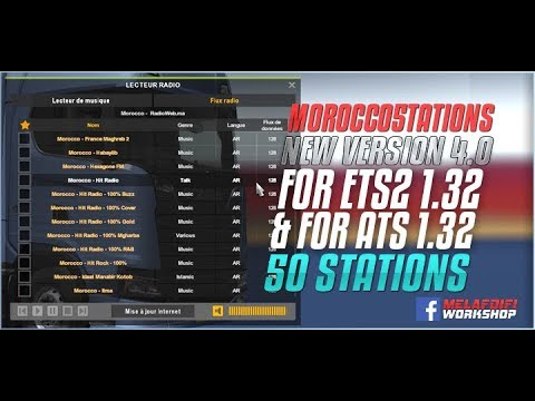 Morocco5tations v4.0 FOR ATS + ETS2 1.32.x