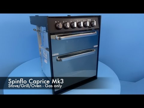Spinflo Caprice Mk3 Stove/Oven/Grill - Gas only