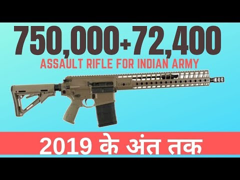 72,400 SIG716 for IA and 750000 Ak-203 by 2019 end: IA CHIEF