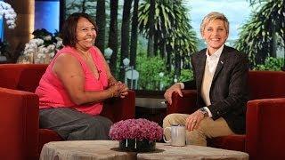 An Ellen Audience Member Wins a Car!