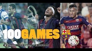 Neymar Jr, 100 games with FC Barcelona, neymar, neymar Barcelona,  Barcelona, chung ket cup c1, Barcelona juventus