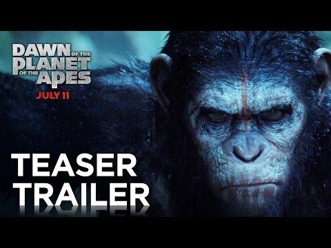 'Dawn of the Planet of the Apes' teaser trailer has arrived!