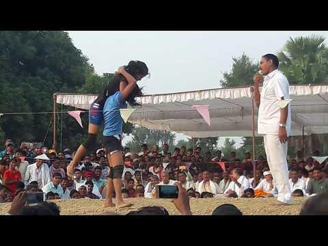 ₩ महिला कुश्ती   महा दंगल यूपी  V/S बिहार (CHAPTHI DHANSOI BUXAR)
