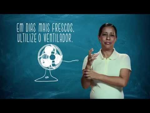 Campanha de Uso Racional de Energia - Libras - Ar Condicionado - Eletrobras Distribuição Rondônia