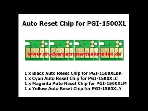 Chip for Canon PG 1500, Maxify MB 2000, MB 2050, MB 2300, MB 2350, Auto Reset Chip for Canon