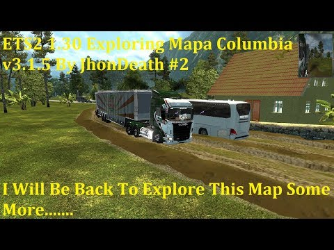 Colombia Map v3.1.6 (ETS2 1.30.x)