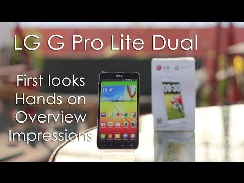 LG G Pro Lite First Looks & Hands On Overview