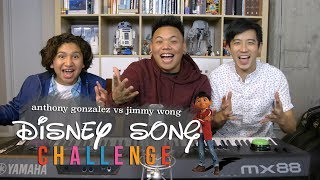 Video Disney Song Challenge - Coco's Anthony Gonzalez vs Jimmy Wong | AJ Rafael MP3, 3GP, MP4, WEBM, AVI, FLV Juni 2018