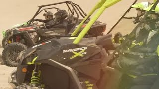 8. 2015 CAN AM MAVERICK X ds TURBO vs POLARIS vs ARCTIC CAT