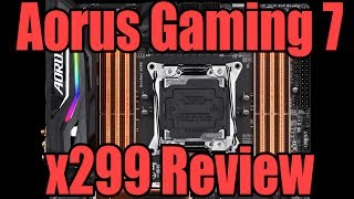 Today we look at the Gigabyte Aorus x299 Gaming 7 motherboard giving it a full overview and how it looks compared to the Gaming 9 & Gaming 3!Big thanks to Intel & Gigabyte for making this video possible!Twitter: https://twitter.com/TechShowdownYTPatreon: https://www.patreon.com/TechShowdownIf you are loving the channel then Subscribe to show the love!
