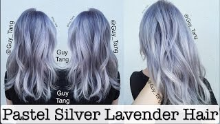 Pastel Silver Lavender Hair - YouTube
