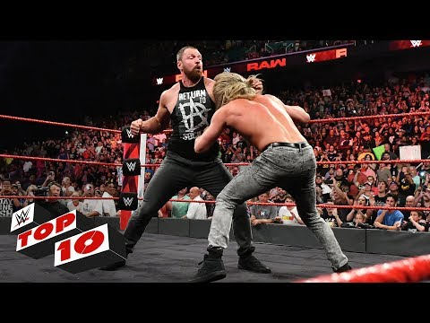 Top 10 Raw moments: WWE Top 10, August 13, 2018