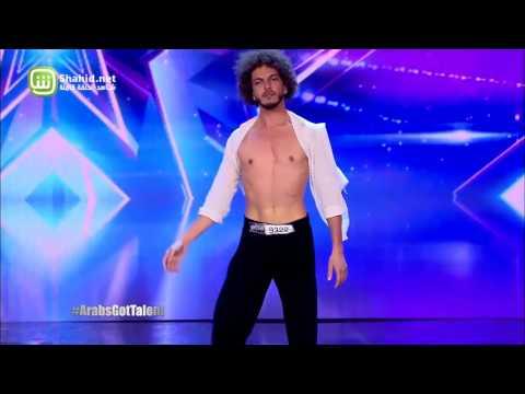 بدون حاسة السمع..لبناني يرقص وينجح في Arabs Got Talent
