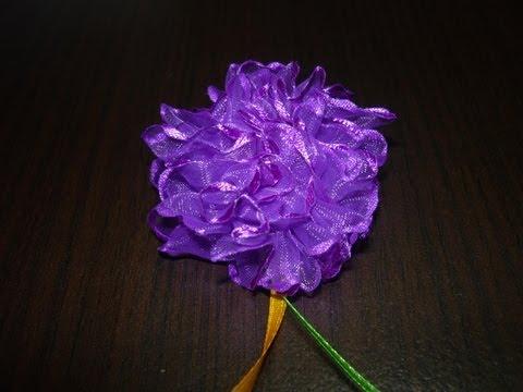 Manualidades y accesorios la hormiga. como una flor en velo encauchada. video No.035