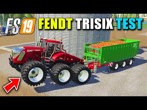 Fendt Trisix Vario Tractor Test with Plows, Cultivator and Heavy Trailers, FS19 Canadian Farm Map