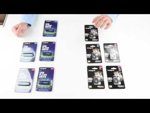 Integral Memory Cards / Flash Drive Review - Genuine Solutions