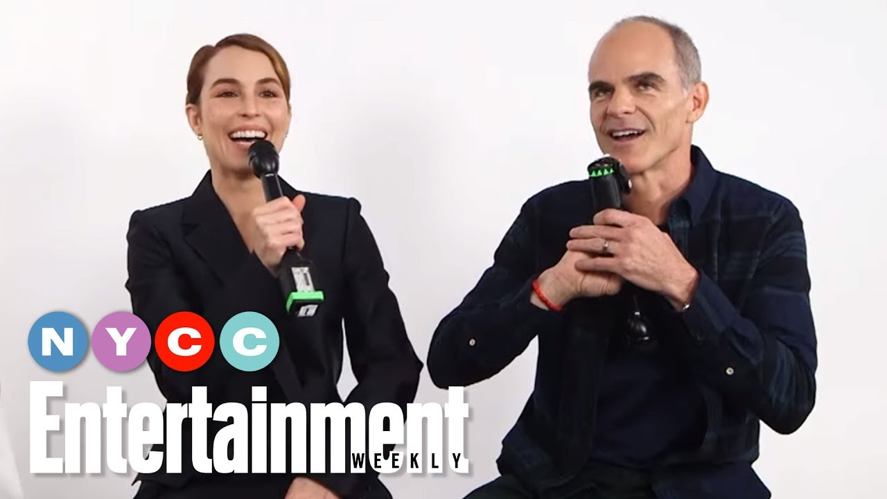 Jack Ryan's Noomi Rapace & Michael Kelly Tease Show's New Season | #NYCC19 | Entertainment Weekly - YouTube