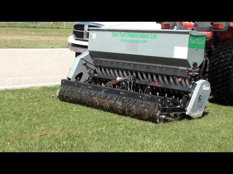 Aeravator - overseed & aerate in one pass!