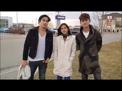 Video Maris Racal and Inigo Pascual BTS during FatherAndSon2018CanadaTour with Piolo Pascual download in MP3, 3GP, MP4, WEBM, AVI, FLV January 2017