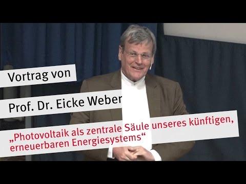 """Vortrag: """"Photovoltaik als zentrale Säule unseres künftigen, erneuerbaren Energiesystems"""""""