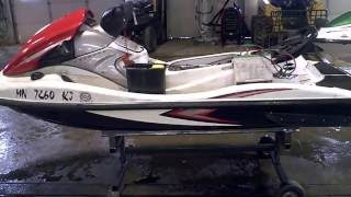 7. 2008 Kawasaki STX 15F JET SKI Tear Down Into Parts LOT 2611A