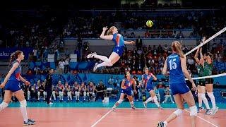 Video TOP 50 Best Women's Volleyball Spikes   3rd Meter Spikes   Powerful Spikes MP3, 3GP, MP4, WEBM, AVI, FLV Juli 2018